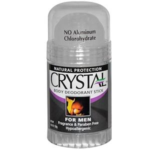 Кристал боди деодорант, Body Deodorant Stick for Men, Fragrance Free, 4.25 oz (120 g) отзывы покупателей