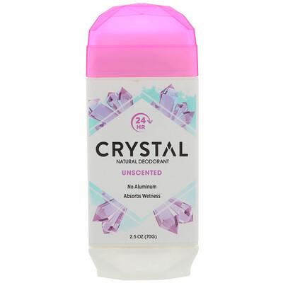 Crystal Body Deodorant Натуральный дезодорант, без запаха, 2, 5 унц. (70 г)  - купить со скидкой