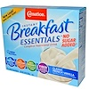 Carnation Breakfast Essentials, No Sugar Added, Classic French Vanilla, 8 Packets, 0.705 oz (20 g) Each (Discontinued Item)