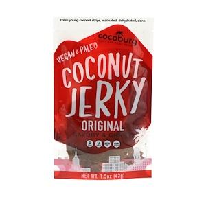 Cocoburg, Coconut Jerky, Original, 1.5 oz (43 g) отзывы