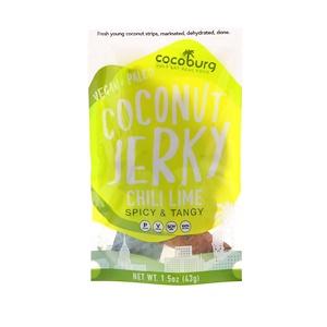 Cocoburg, Coconut Jerky, Chili Lime, 1.5 oz (43 g) отзывы