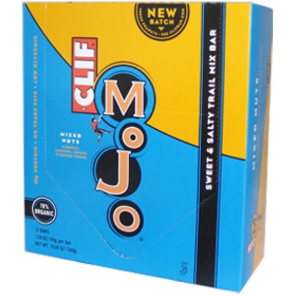 Clif Bar, Mojo, Mixed Nuts, 12 Bars, 1.59 oz (45 g) Per Bar (Discontinued Item)