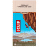 Clif Bar, Energy Bar, Coconut Chocolate Chip, 12 Bars, 2.40 oz (68 g) Each