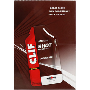 Клиф бар, Shot Energy Gel, Chocolate, 24 Packets, 1.20 oz (34 g) Each отзывы покупателей