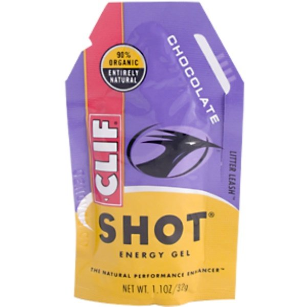 Clif Bar, Clif Shot Energy Gel, Chocolate, 26.4 oz (768 g) 24 Packets (Discontinued Item)