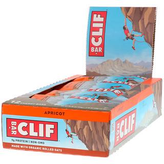 Clif Bar, Energy Bar, Apricot, 12 Bars, 2.40 oz (68 g) Each