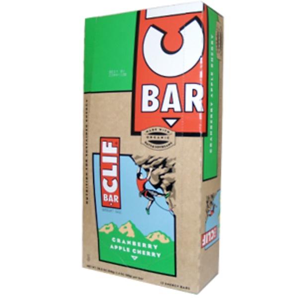 Clif Bar, Cranberry Apple Cherry, 12 Energy Bars 28.8 oz (816 g) (Discontinued Item)