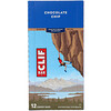 Clif Bar, Energy Bar, Chocolate Chip, 12 Bars, 2.40 oz (68 g) Each