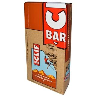 Clif Bar, Energy Bar, Crunchy Peanut Butter, 12 Bars, 2.4 oz (68 g) Each