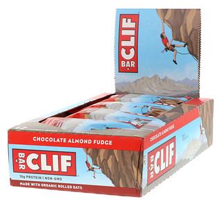 Clif Bar, Energy Bar, Chocolate Almond Fudge, 12 Bars, 2.40 oz (68 g) Each