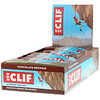 Clif Bar, Barra de Energia, Chocolate Brownie, 12 barras, 2,40 onças (68g)