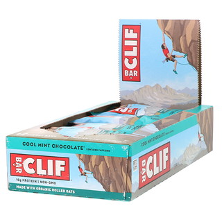 Clif Bar, エナジーバー、 クールミントチョコレート、 12本、 2.40オンス各 (68 g)