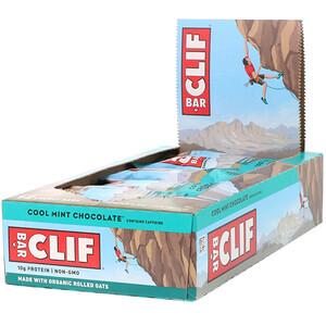 Клиф бар, Energy Bar, Cool Mint Chocolate, 12 Bars, 2.40 oz (68 g) Each отзывы покупателей
