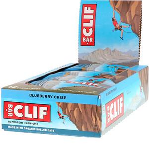 Клиф бар, Energy Bar, Blueberry Crisp, 12 Bars, 2.40 oz (68 g) Each отзывы покупателей