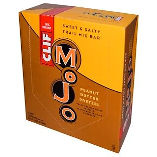 Clif Bar, Mojo, Sweet & Salty Trail Mix Bar, Peanut Butter Pretzel, 12 Bars, 1.59 oz (45 g)