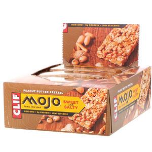 Клиф бар, Mojo, Sweet & Salty Trail Mix Bar, Peanut Butter Pretzel, 12 Bars, 1.59 oz (45 g) Each отзывы