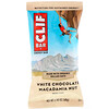 Clif Bar, Energy Bar, White Chocolate Macadamia Nut, 12 Bars, 2.40 oz (68 g) Each