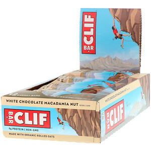 Клиф бар, Energy Bar, White Chocolate Macadamia Nut, 12 Bars, 2.40 oz (68 g) Each отзывы покупателей