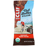 Clif Bar, Organic, Nut Butter Filled Energy Bar, Chocolate Peanut Butter, 12 Energy Bars, 1.76 oz (50 g) Each