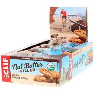 Клиф бар, Organic, Nut Butter Filled Energy Bar, Coconut Almond Butter, 12 Energy Bars, 1.76 oz (50 g) Each отзывы покупателей