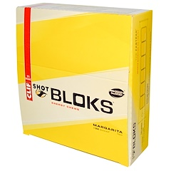 Clif Bar, Shot Bloks Energy Chews, Margarita Flavor + 3X Sodium, 18 Packets, 2.1 oz (60 g) Each