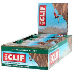 Clif Bar, Energy Bar, Oatmeal Raisin Walnut, 12 Bars, 2.40 oz (68 g) Each