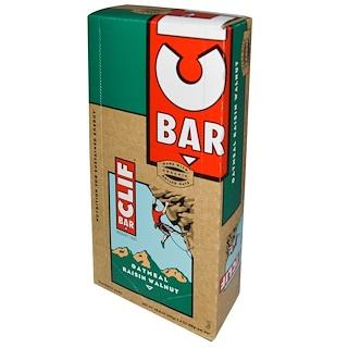 Clif Bar, Energy Bar, Oatmeal Raisin Walnut, 12 Bars, 2.4 oz (68 g) Each