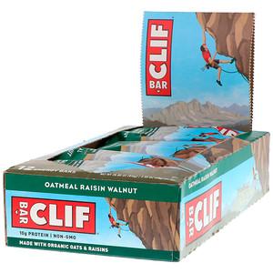 Клиф бар, Energy Bar, Oatmeal Raisin Walnut, 12 Bars, 2.40 oz (68 g) Each отзывы