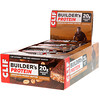 Clif Bar, Builder's Protein Bar, Chocolate Peanut Butter, 12 Bars, 2.4 oz (68 g) Each