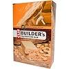 Clif Bar, Builder's Protein Bar, 아삭거리는 땅콩 버터, 12 바, 각각 2.4 oz (68 g)