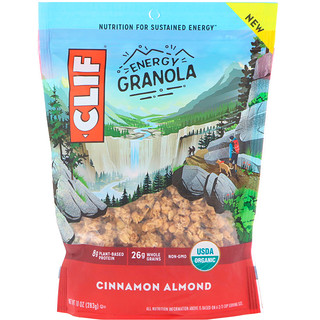 Clif Bar, Clif Energy Granola, Cinnamon Almond, 10 oz (283 g)