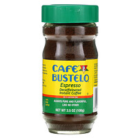 Cafe Bustelo, Espresso, Decaffeinated Instant Coffee, 3.5 oz (100 g)