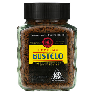 Cafe Bustelo, Supreme by Bustelo, Instant Coffee, 3.52 oz (100 g)