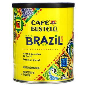 Cafe Bustelo, Brazilian Blend, Ground Coffee, 10 oz (283 g)