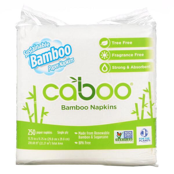 Bamboo Napkins, 250 Paper Napkins