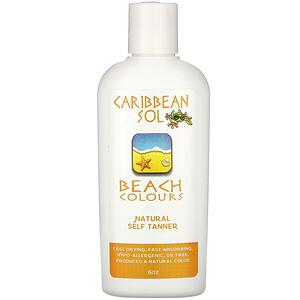 Карибиан Солюшенс, Beach Colours, Natural Self Tanner, 6 oz отзывы