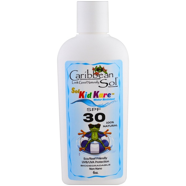 Sol Kid Kare, SPF 30, Water Resistant, 6 oz