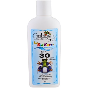 Карибиан Солюшенс, Sol Kid Kare, SPF 30, Water Resistant, 6 oz отзывы покупателей