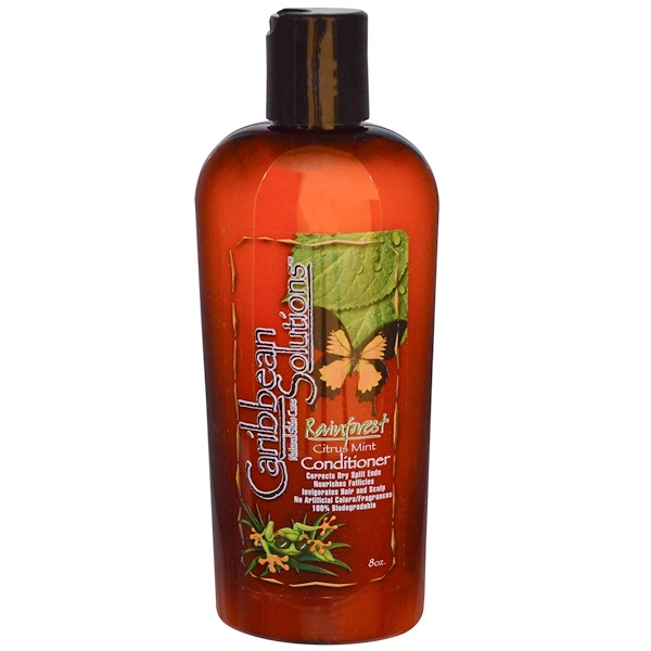 Caribbean Solutions, Rainforest Citrus Mint Conditioner, 8 oz (Discontinued Item)