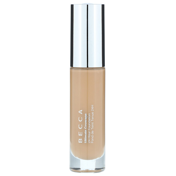 Becca, Ultimate Coverage, 24 Hour Foundation, Tan, 1.0 fl oz (30 ml) (Discontinued Item)
