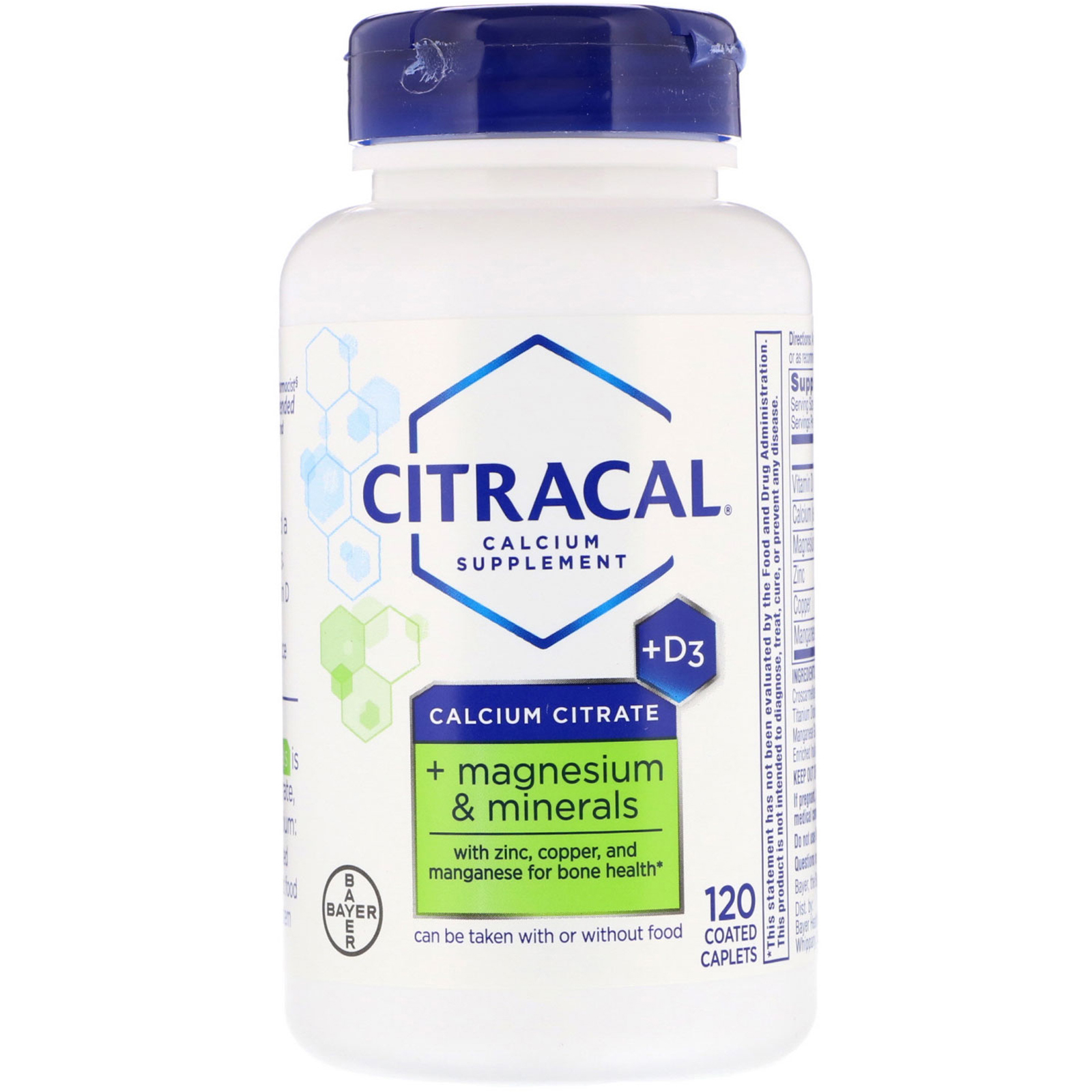 Citracal, Calcium Citrate, + Magnesium & Minerals, +D3, 120