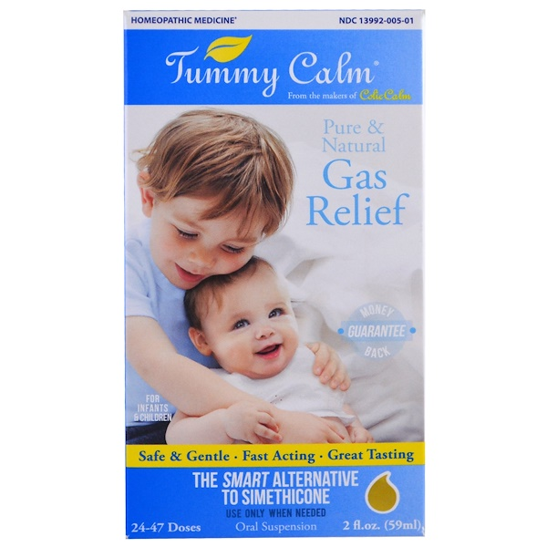 Colic Calm, Tummy Calm, Gas Relief, 2 fl oz (59 ml)