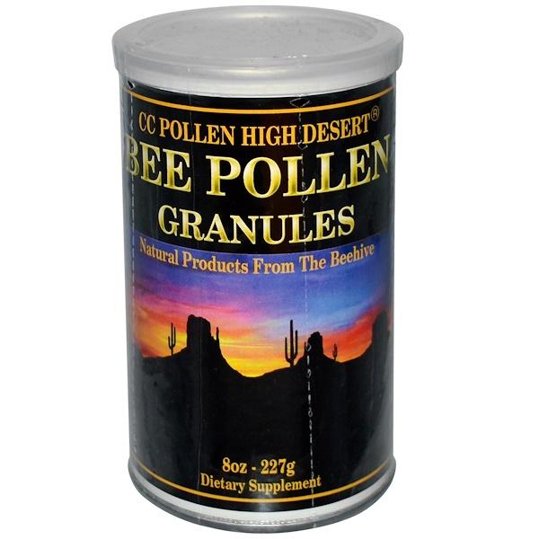 C.C. Pollen, High Desert Bee Pollen Granules, 8 oz (227 g) (Ice)  (Discontinued Item)