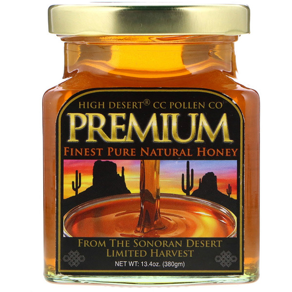 Premium, Finest Pure Natural Honey, 13.4 oz (380 g)