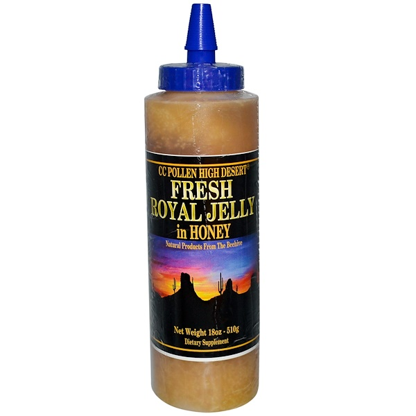 C.C. Pollen, Fresh Royal Jelly In Honey, 18 oz (510 g)  (Discontinued Item)