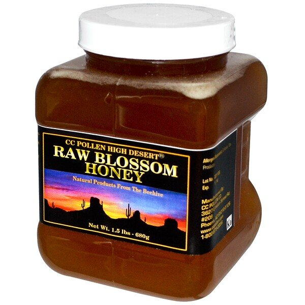 Raw Blossom Honey, 1.5 lbs (680 g)