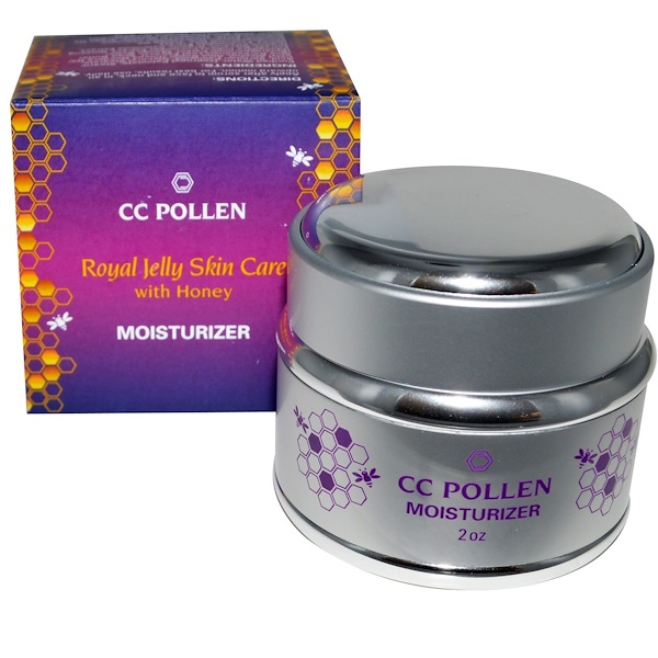 C.C. Pollen, Royal Jelly Skin Care with Honey, Moisturizer, 2 oz (Discontinued Item)