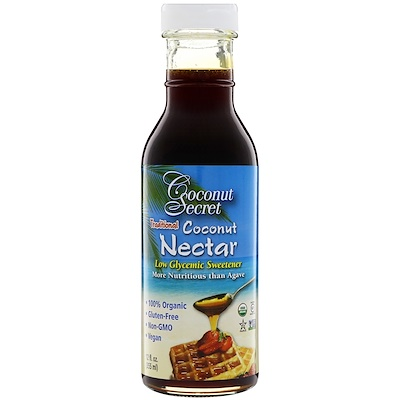 Традиционный кокосовый нектар, подсластитель с низким гликемическим индексом, 355 мл (12 ж. унц.) цена и фото