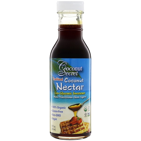 Traditional Coconut Nectar, Low Glycemic Sweetener, 12 fl oz (355 ml)
