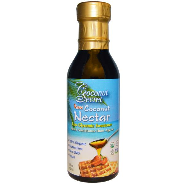 Coconut Secret, Raw Coconut Nectar, Low Glycemic Sweetener, 12 fl oz (355 ml)